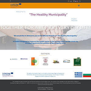 """The Healthy Municipality"" Project Site is Launched"
